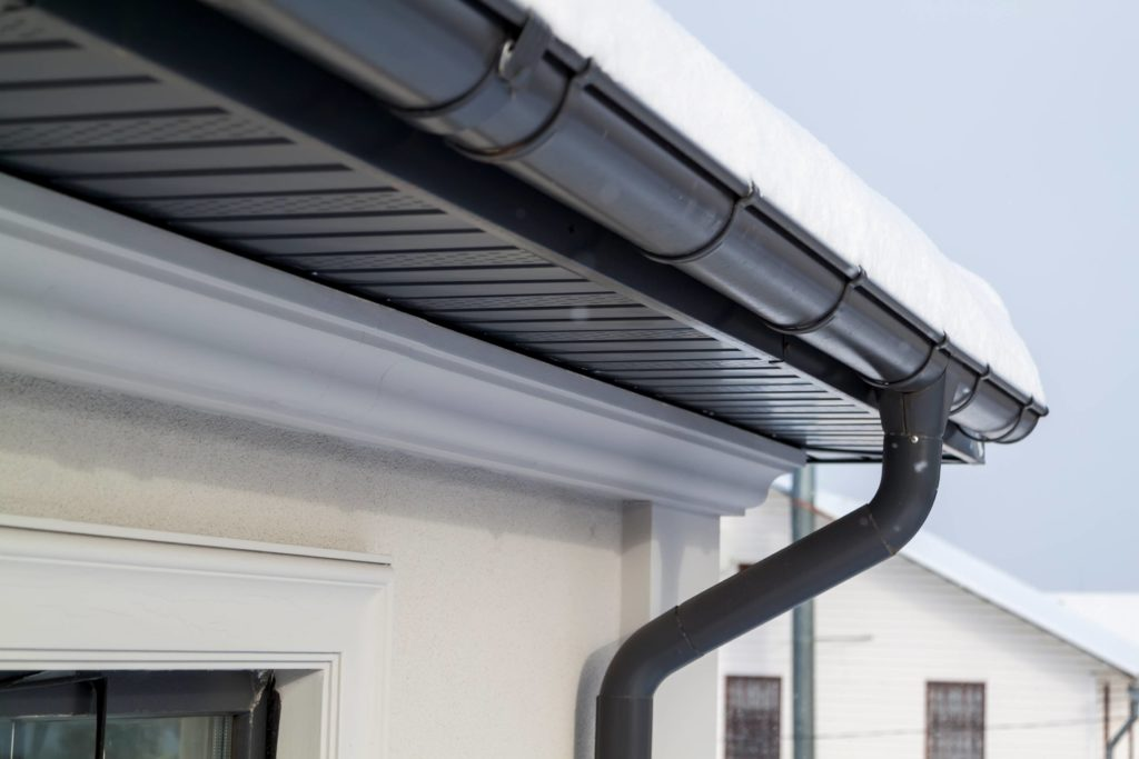 Gutter intallation and repair services at Install Solutions