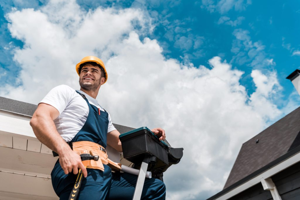 Roofing repair services at Install Solutions